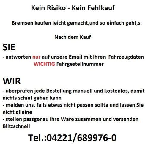 Revêtements Devant Kia Sportage Jur QLE 2.0 CRDi AWD Freins Set Disques De Frein