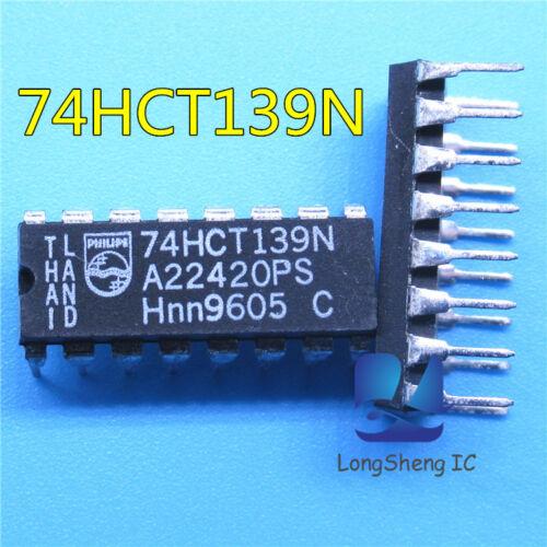 10PCS 74HCT139N DIP-16 NEW