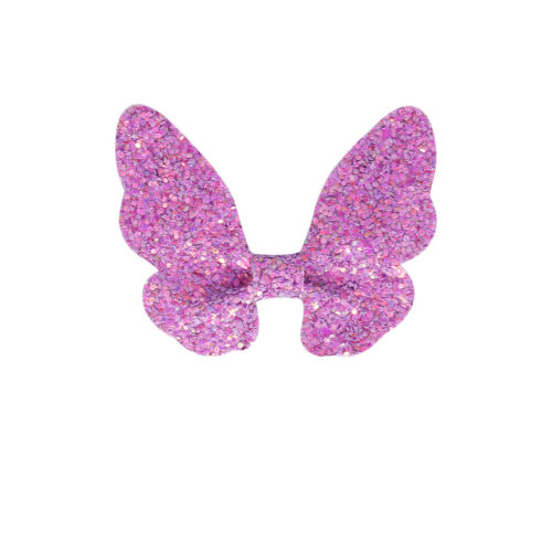 Fashion Glitter Bows Hairpin Butterfly Baby Hair Clips Girls Hair Accessories 1x