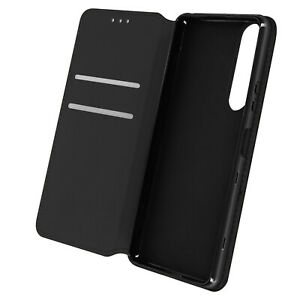 Cuir synthétique Cover Classic Edition, Klappetui pour Sony Xperia 1 III – Noir