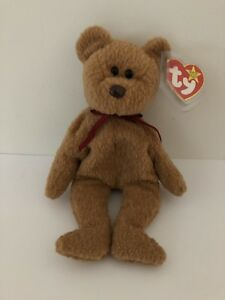 a7503361895 BEANIE BABY - CURLY THE BEAR ORIGINAL - RARE RETIRED - TY TAG MANY ...