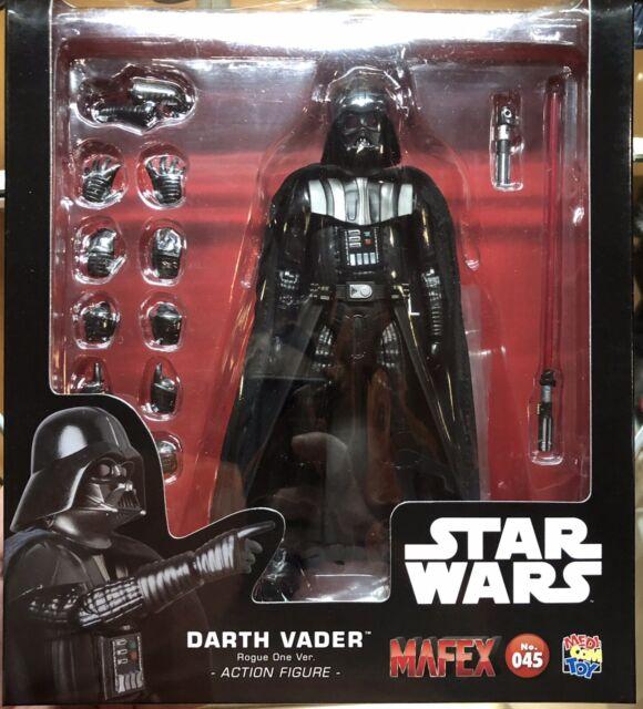 Medicom Mafex Star Wars Darth Vader Rogue One Version No 45 New! Authentic!