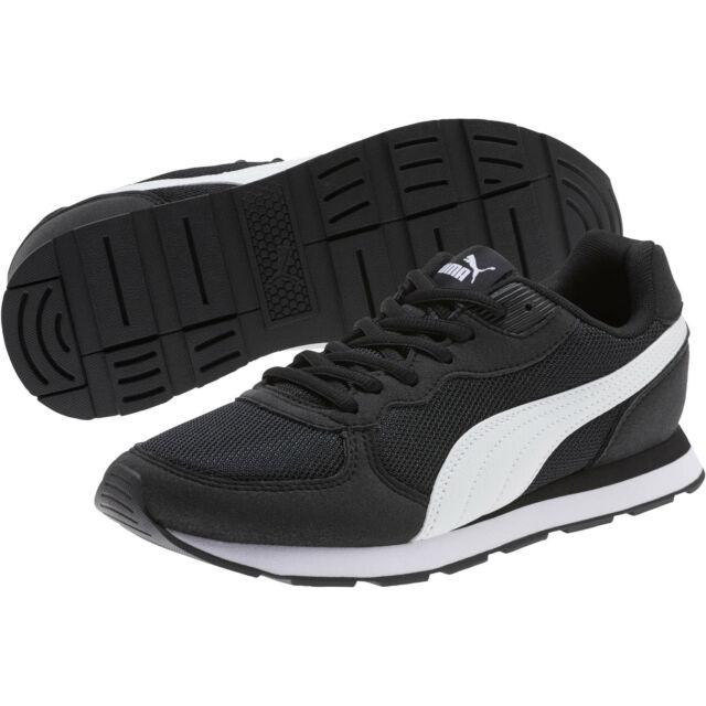 PUMA Vista C Retro Running Shoes Womens Walking SNEAKERS Black White Size US 8.5