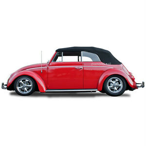 Vw Volkswagen Beetle Bug 1963 1967 Convertible Soft Top