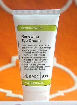 Murad Renewing Eye Cream 2 oz 50ml Professional Salon Pro wrinkle reduce