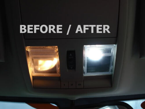 14pcs Bright White LED Lights Interior Package Kit for Honda Oddessy 2005-2010