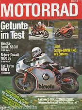Motorrad 13 79 Aspes Navaho Bimota SB 3D Egli MRD1 Bajohr Ducati 1000SS R45 1979
