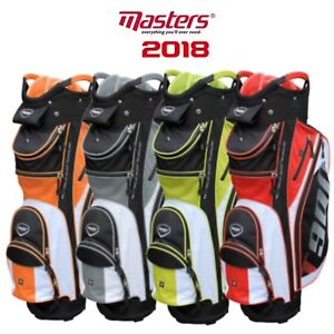 Masters-2018-T900-Golf-Cart-Trolley-Bag-14-way-divider-top-All-Colours