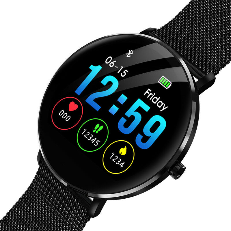Waterproof Sports Smart Watch Touch Screen Heart Rate Monitor for Android iOS