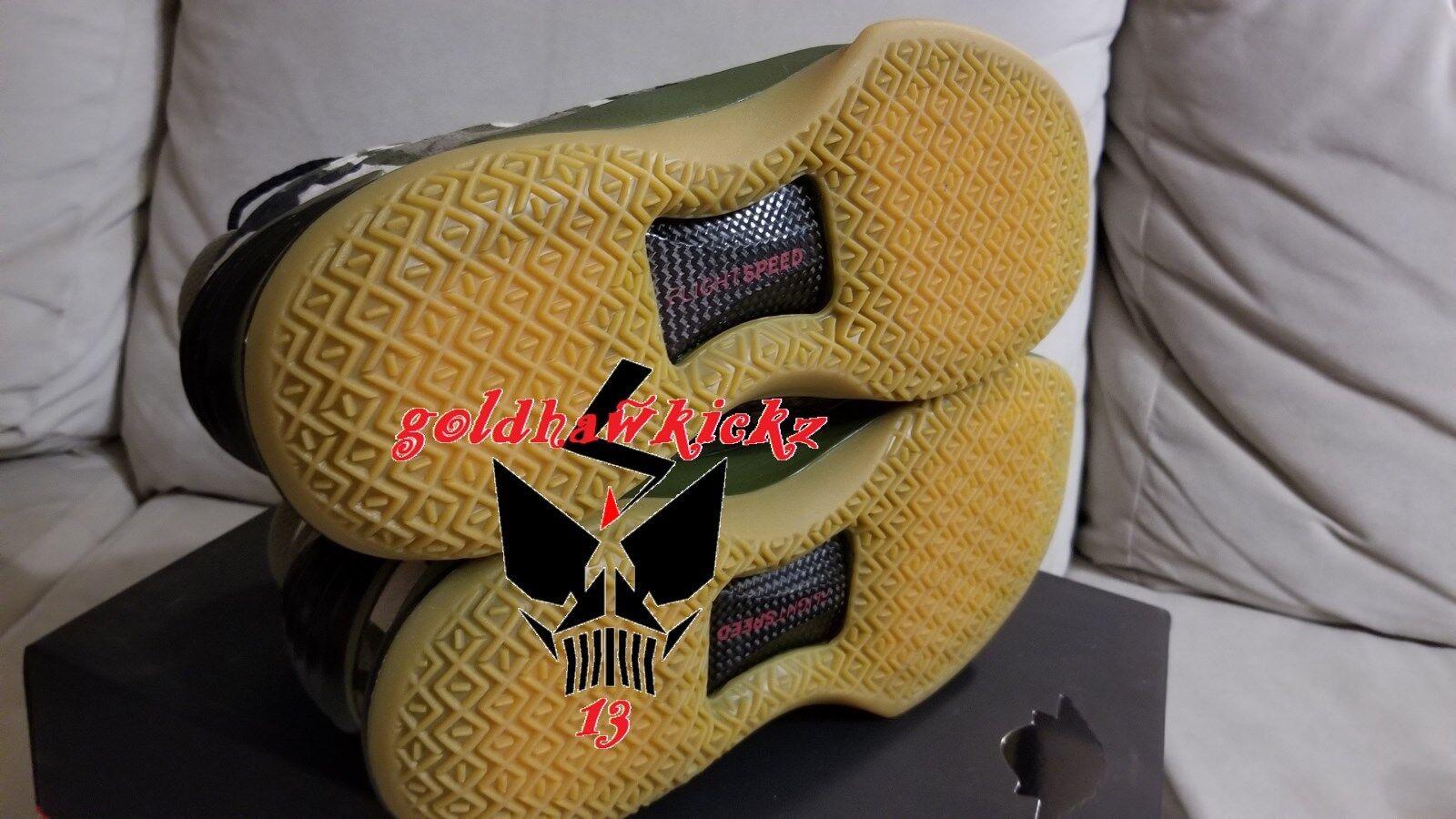 Nike Air Jordan XXXII 32 PE VETERANS DAY DAY DAY AA1253 200 schwarz desert camo unreleased 01d360