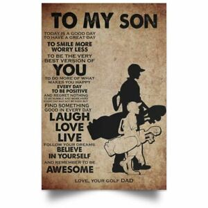 Fahter And Son Poster Spartans Motivation Quotes Vintage Poster Wall Art Print