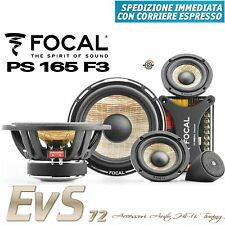 Focal PS 165F3 Kit Casse 3 vie Completo 165mm 16,5cm NUOVO Gar. UFFICIALE ITALIA