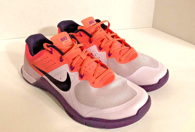 Women's Nike Metcon 2 Bleached Lilac/Purple Dynasty Shoes 821913 500 Sz Size 12!