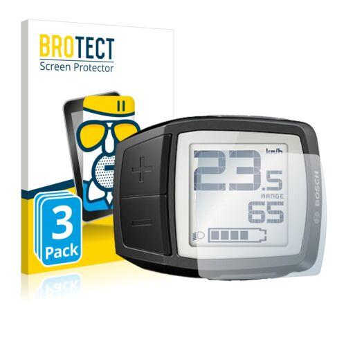 3x protección cristal blindado lámina Bosch purion Matt tanques lámina protector de pantalla
