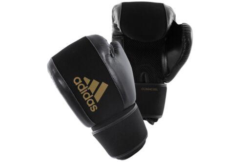 ADIDAS Lavabile Guantoni Da Boxe Climacool Training Sparring BLACK GOLD