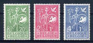Belgien-MiNr-976-78-postfrisch-MNH-Cept-Vorlaeufer-B153