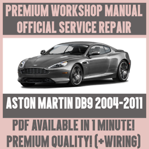 workshop manual service repair guide for aston martin db9 2004 rh ebay com aston martin db9 service manual pdf Aston Martin DB5