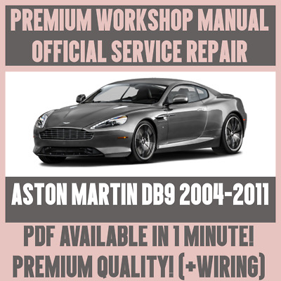 Workshop Manual Service Repair Guide For Aston Martin Db9 2004 2011 Wiring Ebay