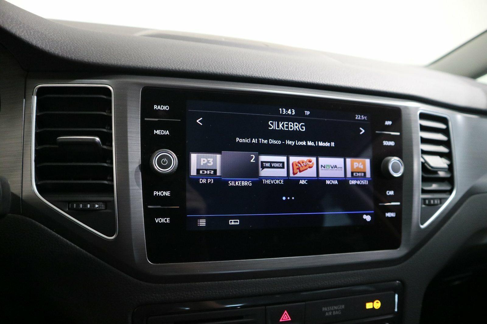 VW Golf Sportsvan 1,6 TDi 115 Comfortline DSG - billede 8