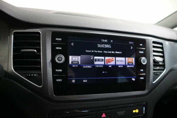 VW Golf Sportsvan 1,6 TDi 115 Comfortline DSG billede 8