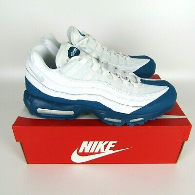 Details about NIKE AIR MAX 95 WHITE GREEN ABYSS PURE PLATINUM SZ 8 13