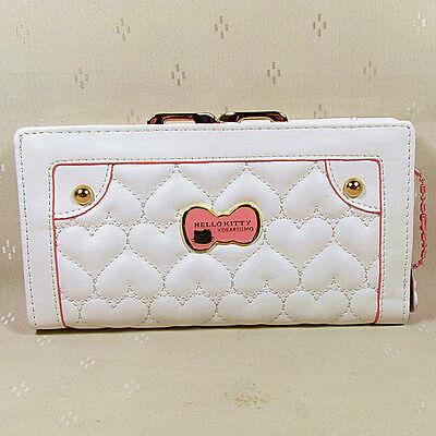 HelloKitty Hasp  Wallet Purse 2017  New Cute Pu White  Long Size