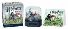 HARRY POTTER SNOW GLOBE & STICKER SET ~ HOGWARTS CASTLE ~ GREAT STOCKING STUFFER