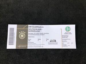 Tickets Deutschland Nordirland