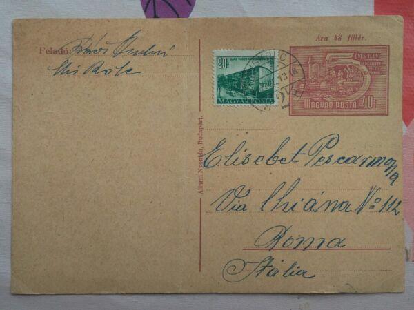 1956 Rivoluzione Ungherese: Fine Di Rakosi, Cartolina Postale Del 13 Luglio