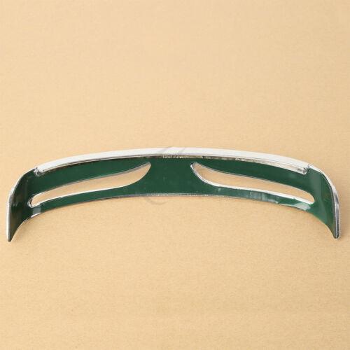 Chrome Rear Fender Edge Trim Tip Trailing Fit For Harley FLSTF FLSTFB FLSTFBS