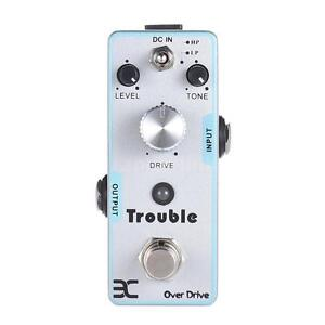New ENO Over Drive Guitar Effect Pedal Stomp box True Bypass – Ship from USA