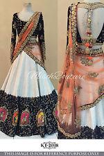 Indian Lehenga choli Bollywood Designer Traditional bridal wedding Party Wear.