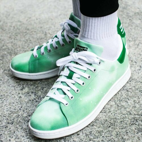 Williams Adidas para Cloud Hu Pw Pharrell Green Athletic Shoes Stan Smith hombre Holi qaTpIT6w