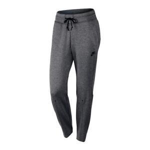 Nike-Sportswear-Tech-Pack-Womens-Fleece-Pants-Grey-Size-L-Track-Bottoms-Gym