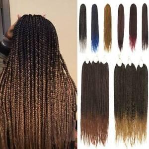 Afro Box Crochet Braids Kanekalon Jumbo Braiding Hair