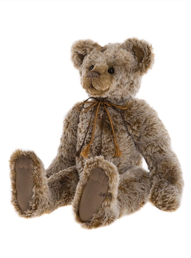 COLLECTABLE 2017 CHARLIE BEAR - BURMA  - NEW - A GORGEOUS TRADITIONAL BEAR