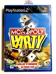 Monopoly-Party-PS2-Pal-Spa-Neuf-Nouveau-Scelle-Retro-PLAYSTATION-Videojuego