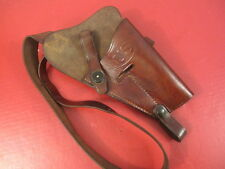 WWII US M3 Leather Shoulder Holster Marked: US Boyt for Colt M1911A1 .45acp XLNT