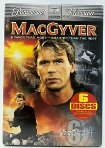 MacGyver-The-Complete-Sixth-Season-DVD-2006-6-Disc-Set-Brand-New-Sealed