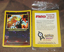 Entei #34 HOLO WOTC Black Star Promo MINT SEALED Pokemon Card