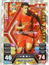 Match Attax 2013/14 Premier League - #157 Philippe Coutinho - Star Player