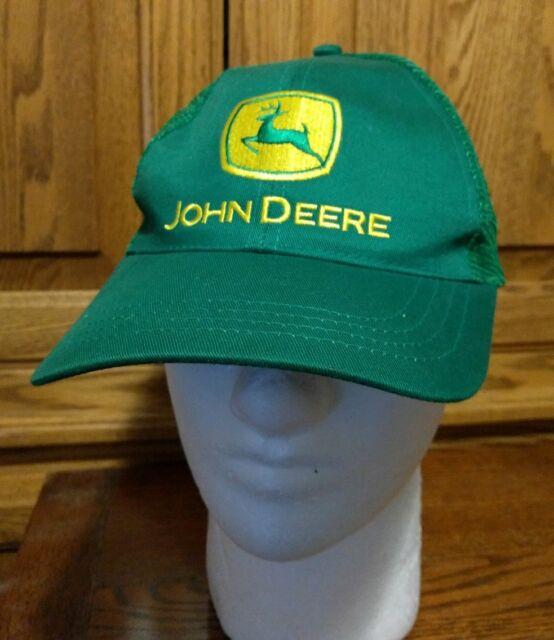 16b5880f39036 John Deere Green Mesh Baseball Cap Hat Cary Francis Nothing Runs Like a  Deere