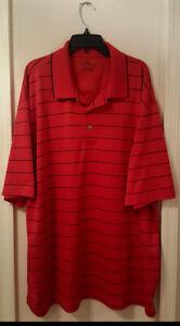 Pre-Owned-Men-s-PGA-Tour-Stripe-XXL-Polo-Shirt