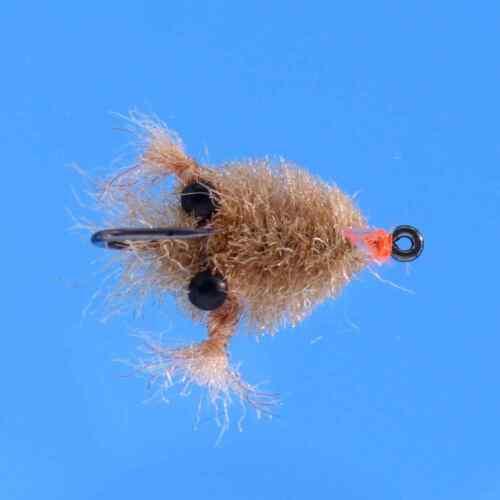 Cripple Dry Fly Assortment 2 Dozen 24 Hi Vis  Flash  Nymen/'s  DOA Baetis  CRP4