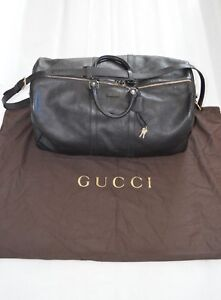 c4589f70871 Image is loading Gucci-Joy-Guccissima-Brown-Leather-Monogram-Signature-Zip-