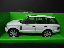 Welly Land Rover Range Rover 2003 White 1/24
