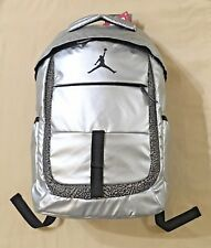 62ab9b13ab item 2 Nike Air Jordan Backpack Laptop Sleeve Jump Man Logo Metallic Silver  9A1685-250 -Nike Air Jordan Backpack Laptop Sleeve Jump Man Logo Metallic  Silver ...