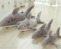 40cm-120cm Shark Soft Toy - Plush Stuffed Animal - All Ages
