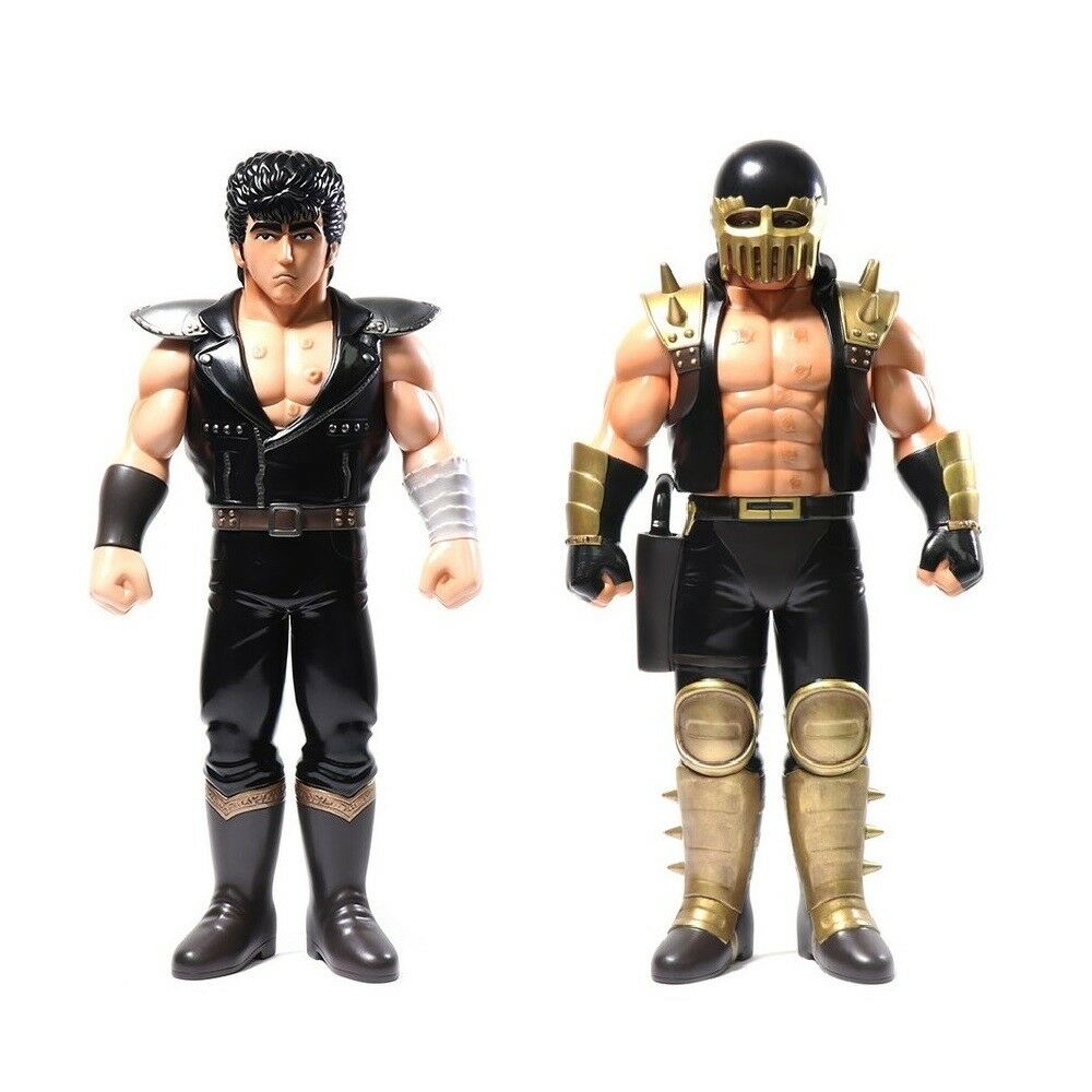 Fist of the North Star Hokuto no Ken Kenshiro + Jagi Figure Unbox Industries