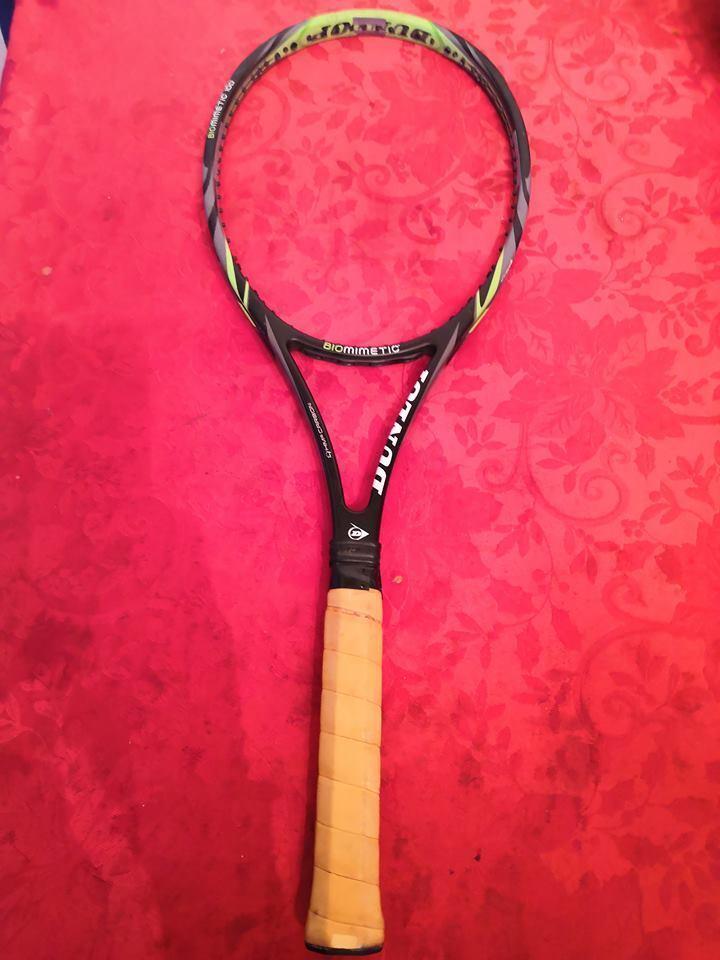 Dunlop biomiméticos 100 90 headTalla 4 3  8 de agarre Color verde raros, tenis raqueta  Precio al por mayor y calidad confiable.